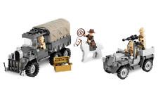 Lego Indiana Jones 7622 Race for the Stolen Treasure  100% COMPLETE VGC