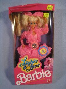 1990 Lights & Lace Barbie Mattel #9725