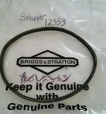 OEM Snapper Cogged Drive Belt 12353 NEW FREE SHIPPING