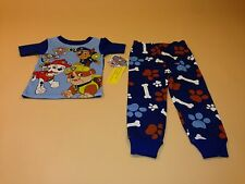 Paw Patrol Toddler Boy Short Sleeve Shirt & Pants Pajamas New 3T