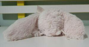 BEARINGTON BABY COLLECTION PINK RABBIT RATTLE STUFFED TOY 20CM LONG