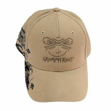 DRI DUCK-GRUMPYFROGS Outdoor, Custom Embroidered Fishing Ball Cap.