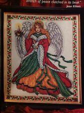 Joan Elliott Angel Of Peace Christmas Cross Stitch Chart