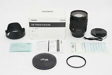 Sigma Af 24-70mm f/2.8 Dg Os Hsm Art Lens Canon Eos Digital Camera + Bonus Uv