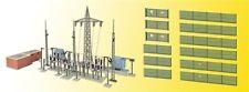 Kibri 39840 Umspannwerk Unterwerk Baden-Baden mit Elektroblitze  ,Bausatz,  H0
