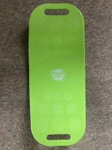 Simply Fit Board -The Twist Workout Balance Board - GREEN - Seen On Shark Tank