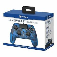 Snakebyte Game Pad Wired Ps4 Controller - Blue