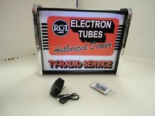 RCA Electron Tubes LED Display light sign box