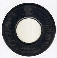 "DIRE STRAITS Calling Elvis  7"" Rare Juke Box Issue Vinyl Single, B/W Iron Hand,"