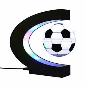 Anti Gravity Magnetic Levitation Decorative Light Floating Soccer Night Lamp
