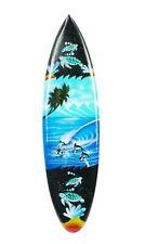Asia Design Miniatur Surfboard Dekosurfboard Surfbrett Holz Wellenreiten 30cm N5