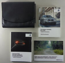 Owner's Manual + Wallet BMW 5-Series F10 from 2015