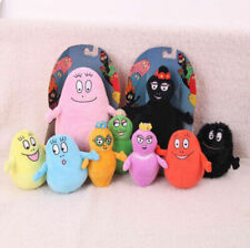 Rare 9pcs family Barbapapa and Barbamama Plush Doll Toy NEW