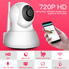 Wireless CCTV IP Camera 360 PTZ Indoor Home Security Wifi Mini Network Monitor