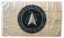 Space Force Logo Flag 3X5 Garage Shop Wall Banner Air Force Ussf Rocket Nasa