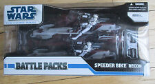 2008 Star Wars The Clone Wars Battlepacks SPEEDER BIKE RECON New