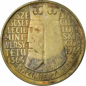 [#319255] Coin, Poland, 10 Zlotych, 1964, VF, Copper-nickel, KM:52.1