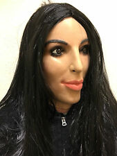 Deluxe Kim Kardashian Mask Overhead Latex Kardashians TV Fancy Female Doll Masks