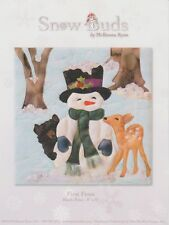 Snow Buds by McKenna Ryan, First Frost Quilt Pattern, Block 9 of Series, DIY