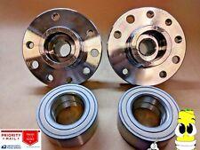 Premium Front Wheel Hub & Bearing Assembly Kit for Saab 9-3 1999-2003 Set of 2