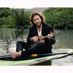 Eddie Vedder - Pearl Jam (80985) - Autographed In Person 8x10 w/ COA