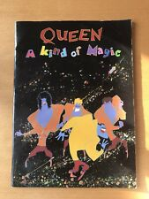 Queen Kind Of Magic Tour Programme