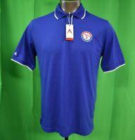 Antigua Mens MLB Texas Rangers Polo Shirt NWT S, M