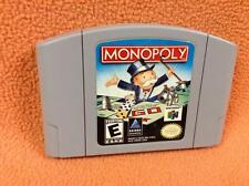 Monopoly *Authentic* Nintendo 64 N64 Super Game *Cart Only* FREE SHIP!