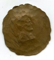 Lincoln Wheat Cent Penny - Hammered Art Coin Hobo - BG885