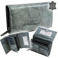 XXL große Trend Damen Portemonnaie Geldbörse Geldbeutel Leder 12 Karten Lang neu