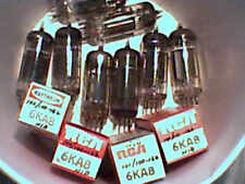 Tube 12ea  6KA8  4NIB tstd amp radio amplifier ham