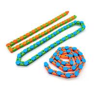 Wacky Tracks Fidget Chain Anti Stress Toy Stress Relief Kid Autism Sensory Toys