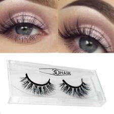 1 pair Useful 3D Mink Hair False Eyelashes New.