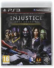 Injusticia-Gods Among Us Ultimate Edition para PS3 PAL (nuevo Y Sellado)