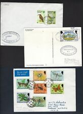 FALKLAND ISLANDS 1960 80 COLLECTION OF 10 COMMERCIALS & FDC VARIOUS FRANKINGS
