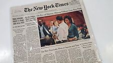 FREE THE NEW YORK TIMES 01 20 09 President Obama 44 Collector's Sold Out Issue