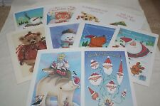 Christmas Cards~10~Cards~10-Differe nt Designs-Kid's Design~Made In Usa
