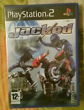 PS2 JACKED NUOVO SIGILLATO VERSIONE PAL-ITALIANO  playstation 2 moto trial