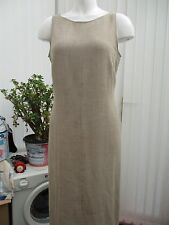 """""""marks and spencers"""" ladies size 12 almond coloured dress"""
