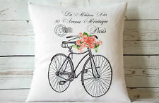 "Destination Dior - 16"" cushion cover French shabby vintage chic - UK handmade"