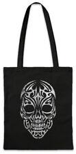 Tribal Skull Shopper Shopping Bag Celts Celtic Tattoo Symbol Sign Knot Culture