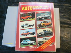 AUTO MAGAZINE 1982 INTERNATIONAAL 350 CAR MODELS IN COLOR SKODA,LADA,POLSKI,TVR,
