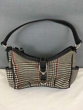 Chaps Womens Purse Shoulder Bag Handbag Houndstooth
