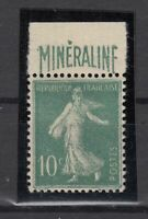 AG4911/ FRANCE – MINERALINE – Y&T # 188A MINT MH - CV 585 $