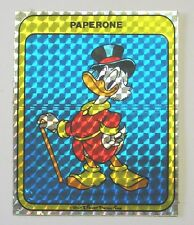 VECCHIO ADESIVO / Old Sticker DISNEY ZIO PAPERONE Uncle Scrooge (cm 9 x 11)