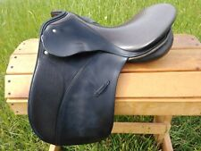 "17"" Passier PS Baum Dressage Saddle - Med/Wide Tree - Made in Germany"