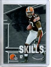 2008 LEAF CERTIFIED MATERIALS BRAYLON EDWARDS CERTIFIED SKILLS #rd 1000
