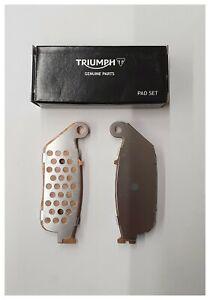 TRIUMPH GENUINE PARTS TIGER 800 GEN 2 FRONT BRAKE PADS LEFT HAND T2021330