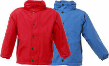 Regatta Kids Term Time Waterproof Reversible Red Jacket Tra900 11-12 Years
