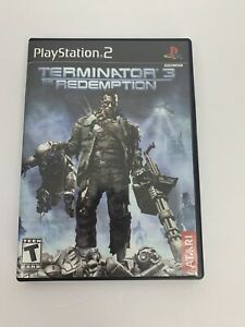 Terminator 3: The Redemption (Sony PlayStation 2, 2004) No Game Case Manual Only